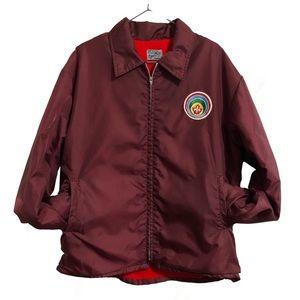 Vintage Boy Scouts lined nylon jacket. L